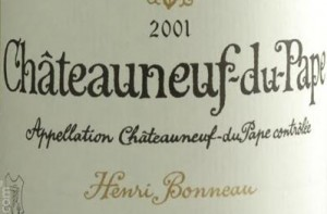 Henri Bonneau's wines: expensive. And meaty.