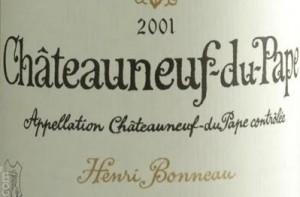 Henri Bonneau's wines: expensive. And meaty.
