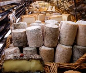 Cheeses at La Mere Richard, Halles de Lyon