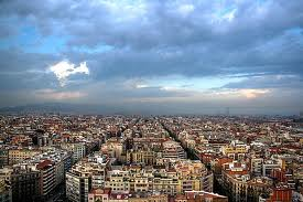 L'Eixample district in Barcelona