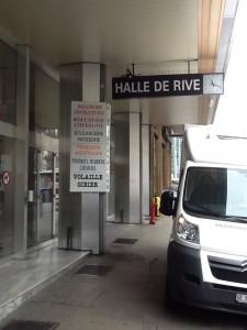 Halle de Rive market, Geneva