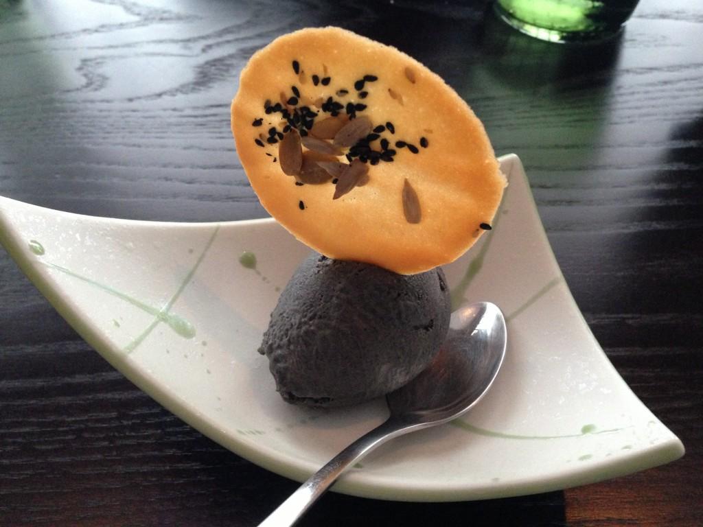 Dessert at The Shiori