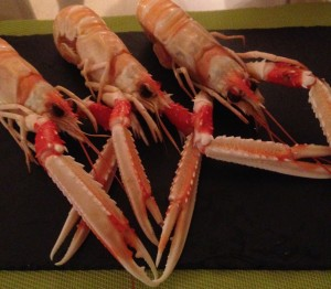 Langoustines - keep it simple