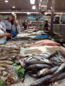 A Coruna fish market